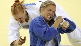 When Ronda Rousey competed at the Olympics in judo