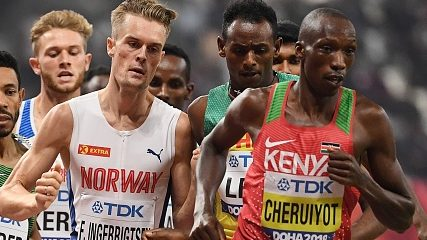 Kenya's best to race Norway's best on different continents in track meet