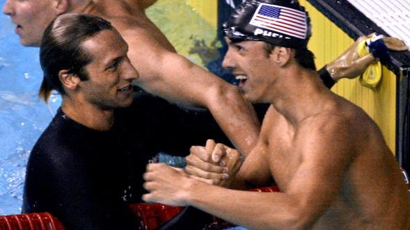 Ian Thorpe, Michael Phelps