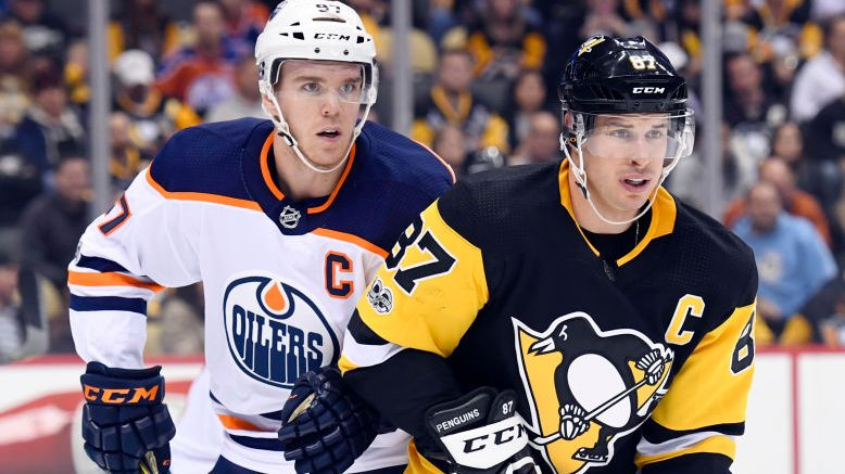 Connor McDavid, Sidney Crosby
