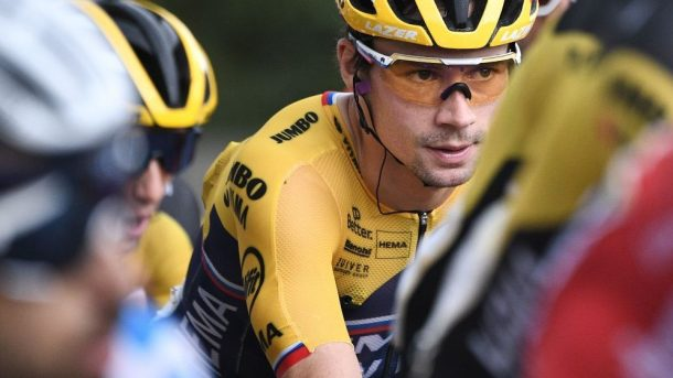 Primoz Roglic Leads Tour De France After Ending Champion Ski Jump Career
