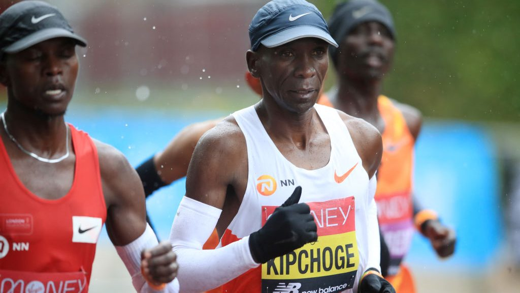 Eliud Kipchoge defeated at London Marathon, ending historic win streak