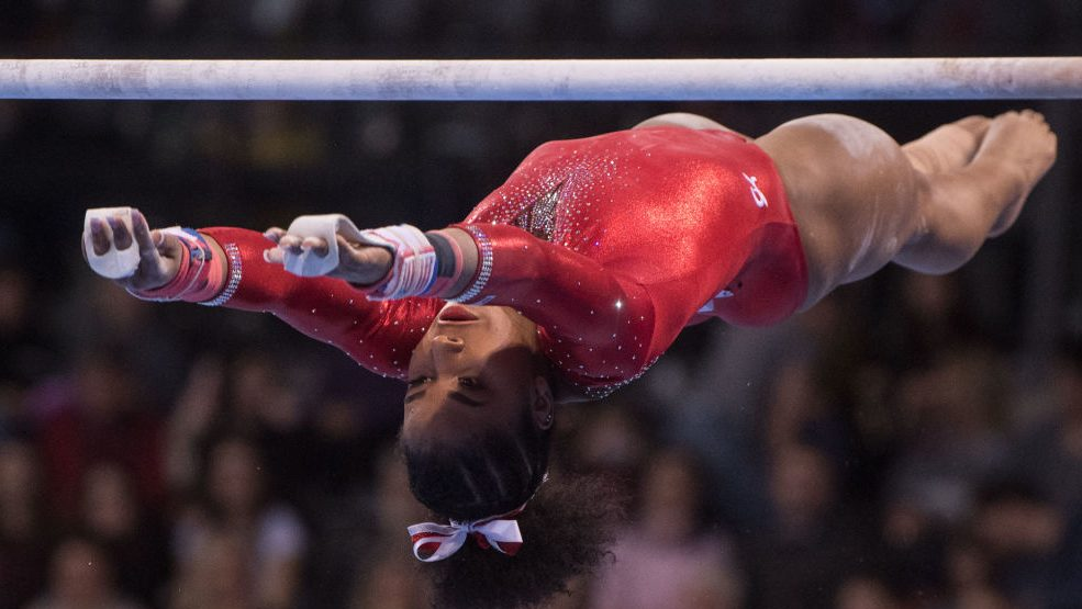 Jordan Chiles wins Winter Cup; Laurie Hernandez comes back