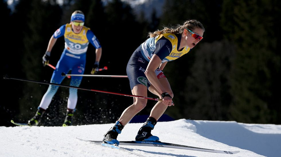 Jessie Diggins fourth at world champs; Therese Johaug wins by historic margin