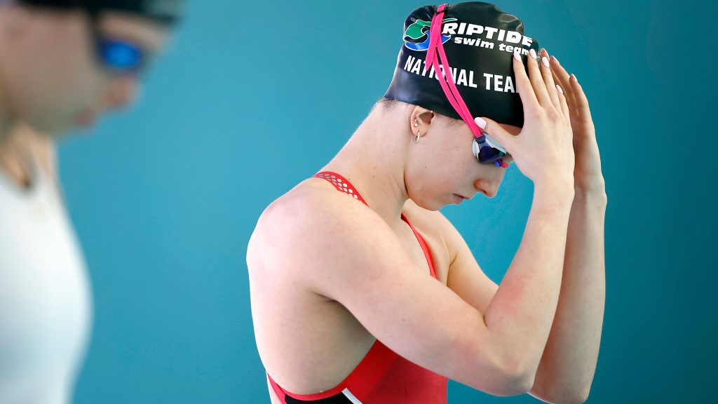 Regan Smith, world's best backstroker, takes flight in butterfly