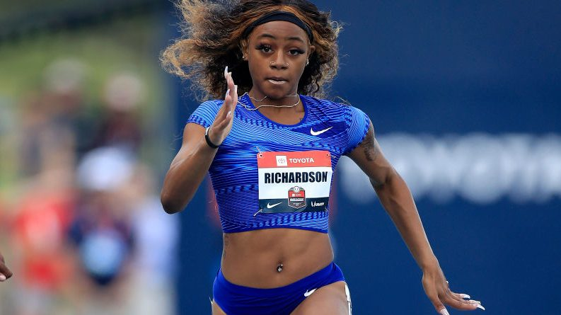 Sha'Carri Richardson 'sends shockwaves' for Olympics with 100m time