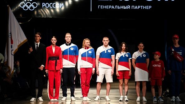 Russia Olympic Uniforms