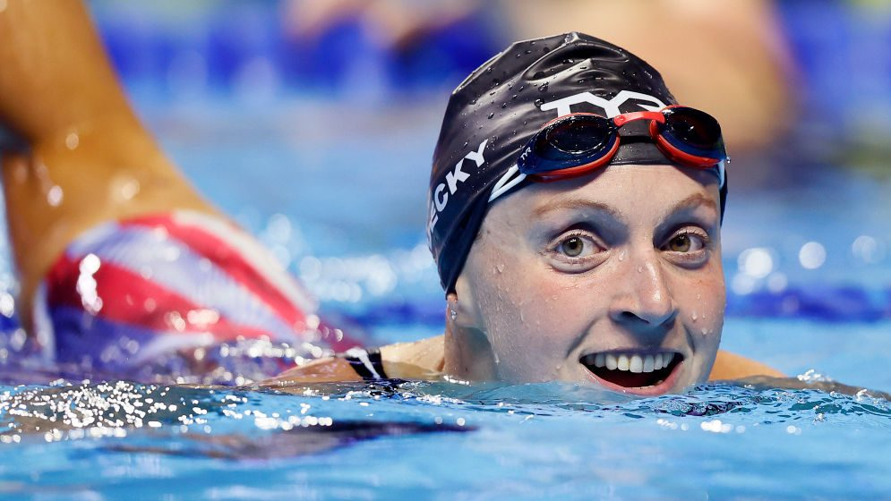 Katie Ledecky takes on unprecedented U.S. Olympic Trials double - Home of the Olympic Channel