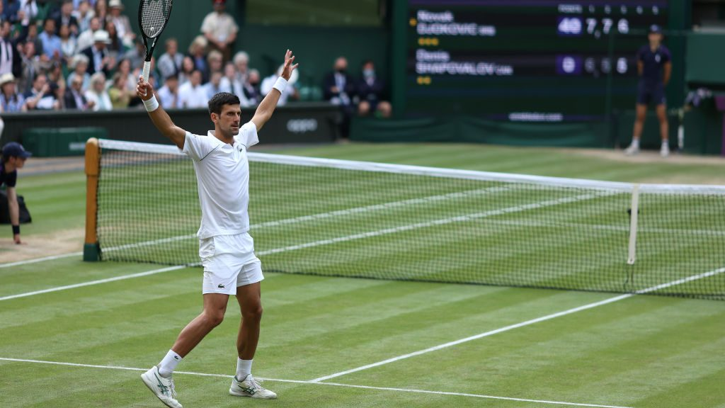 Wimbledon 2021 - Day Eleven - The All England Lawn Tennis and Croquet Club