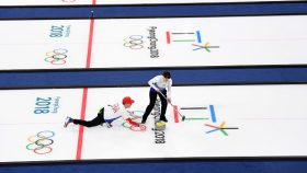Curling - Winter Olympics Day 1